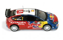 Citroen C4 WRC #2 (Red Bull) D. Sordo - M. Marti 3rt Rally Argentine 2008