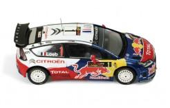 Citroen C4 WRC #1 (Red Bull) S. Loeb - D. Elena Winner Rally Cyprus 2009 (new decoration)