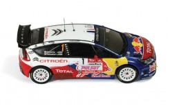 Citroen C4 WRC #1 S. Loeb (Mr.) - S. Loeb (Ms.) Winner Rally Du Var 2009