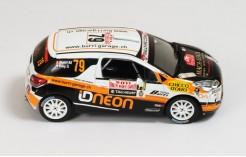 Citroen DS3 R3 #79 M. Burri-S. Rey Rally Monte Carlo IRC 2011