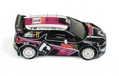 Citroen DS3 WRC #11 P. Merksteijn-E. Chevalier Rally Monte Carlo 2012