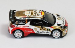 Citroen Ds3 WRC #3 D. Sordo -C.Del Barrio Winner Rally Germany 2013