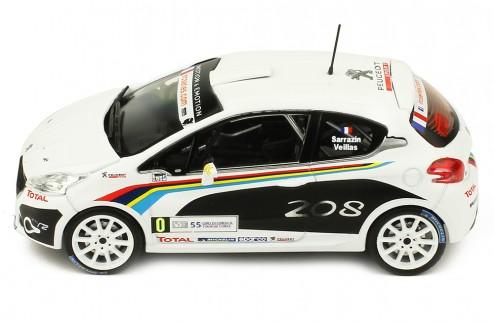 PEUGEOT 208 R2 #0 S. Sarrazin-B. Veillas Tour de Course 2012