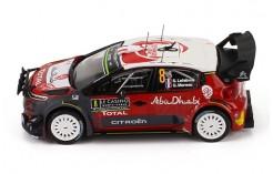 CITROEN C3 WRC #8 S. Lefebvre - G. Moreau - Rally Monte Carlo - 2017 (with Night Lights)