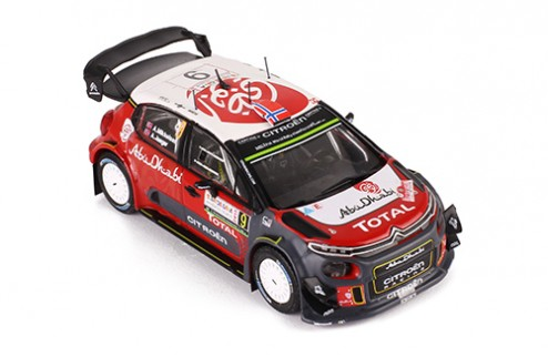 CITROEN C3 WRC #9 A. Mikkelsen - A. Synnevaag - Rally Sardegna 2017