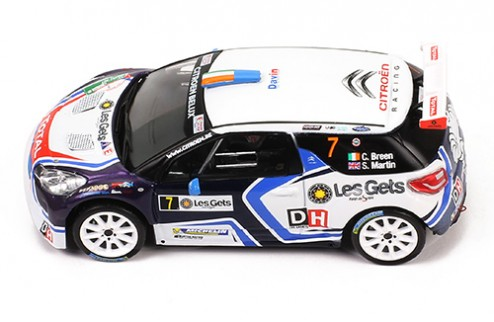 CITROEN DS3 R5 #7 C. Breen - M. Scott - Rallye du Condroz - Huy 2016
