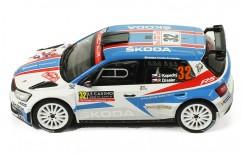 SKODA Fabia R5 #32 - J. Kopeke-P. Dresler Winner WRC2 Rallye Monte-Carlo 2018