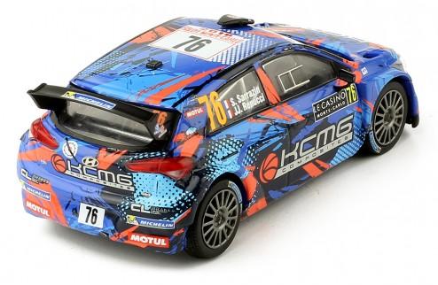 Hyundai i20 R5 #76 S. Sarrazin - JJ.Renucci Rallye Monte Carlo 2018