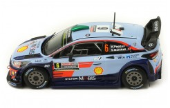 IXO Model RAM701 Hyundai i20 WRC N.19 5th Rally Monte Carlo 2019 LOEB-Elena 1:43