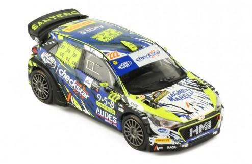HYUNDAI NGi20 WRC # 222 A. Cairioli-E. Mori Monza Rally Show 2018