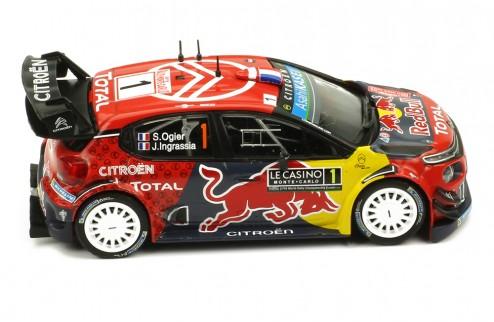 CITRÖEN C3 WRC #1 S. Ogier-J. Ingrassia Winner Rallye Monte-Carlo 2019
