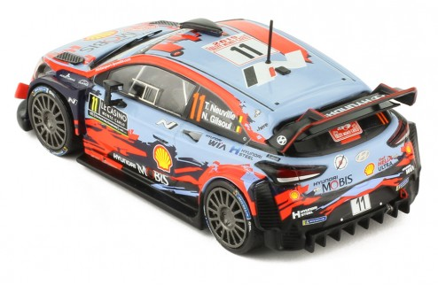 HYUNDAI Coupe i20 WRC # 11 T. Neuville-N.Gilsoul 1er Rallye Monte-Carlo 2019