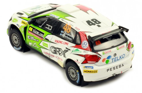VOLKSWAGEN Polo Gti R5 #48 - M.Korhonen - E.Lindholm Rally Sweden 2019