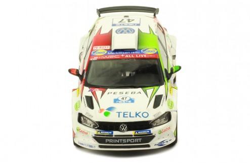 VOLKSWAGEN Polo GTI R5 #47 E. Lindholm-M.Korhonen Rally Finland 2019