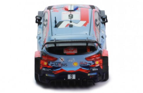 HYUNDAI i20 Coupe WRC - #9 S.Loeb - D.Elena Winner Rallye Monte-Carlo 2021