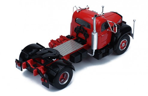 MACK B 61 1953 Red and Black
