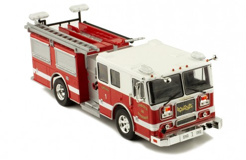 SEAGRAVE Marauder II - Fire Brigade - Charlotte Fire Department
