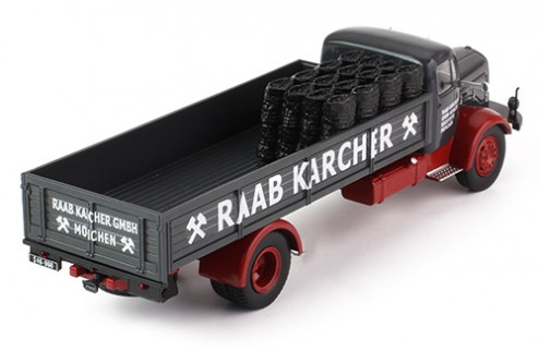 MERCEDES BENZ L325 - Raab Karcher (open rear part) coal transport