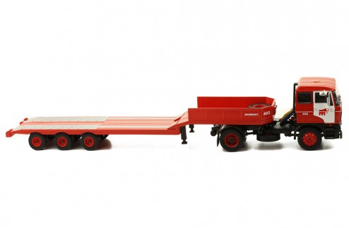 "DAF 2800 Low-boy trailer 1978 ""Mammoet"""