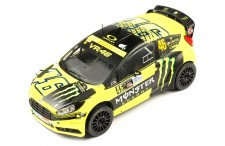 FORD FIESTA RS WRC #46 V. Rossi-C. Cassina Monza Rally 2015