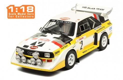 AUDI Sport Quatro S1 #2 W. Röhrl-C. Geistdörfer Rally Monte Carlo 1986