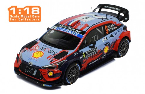 HYUNDAI i20 Coupe WRC #9 S. Loeb-D. Elena Rallye Monte-Carlo 2020