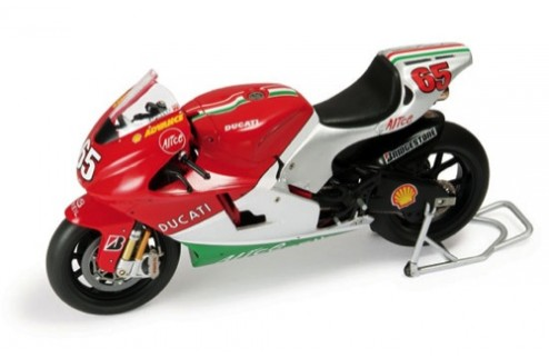 Ducati Desmosedici (Mugello Decoration - All Red) Loris Capirossi Moto GP 2006