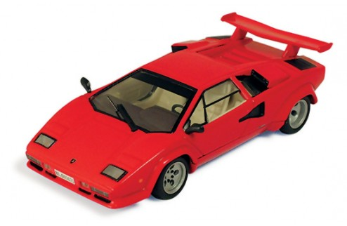 Lamborghini Countach LP500s 1985 Red 2(with Tan interior)
