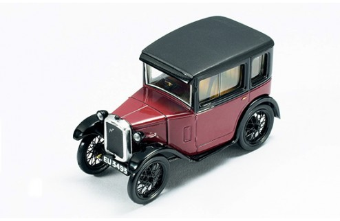 Austin Seven 1922 Dark Red & Black