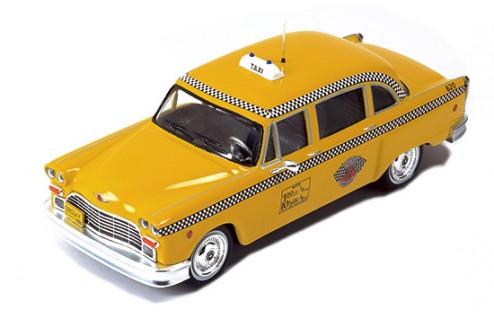 Checker New York Yellow Cab 1985