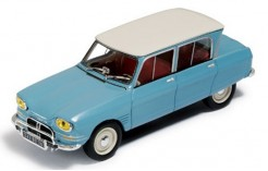 Citroen AMI 6 Blue - White Roof 1961