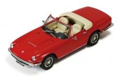 Maserati Mistral Cabriolet Dark Red 1963