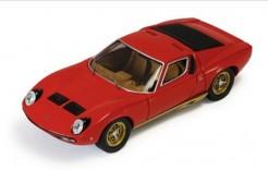 Lamborghini P400 Miura Sv 1972 Red & Bronze