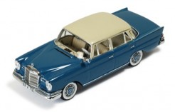 Mercedes 220SE 1959 2-TONES Dark Blue (with Beige)