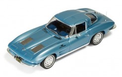 Corvette Stingray 1963 Light Metallic Blue