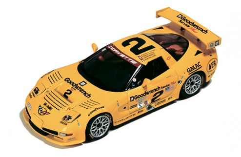 Chevrolet Corvette C5-R #2 J. O'Connell-F. Freon-C. Kneifel-R. Fellows Winner Rolex 24H Daytona 2001