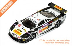 Saleen S7R #66 P. Ruberti-M. Bobbi-S. Lemeret 1000kms Spa 2005 (Finish 3rd In Championship)