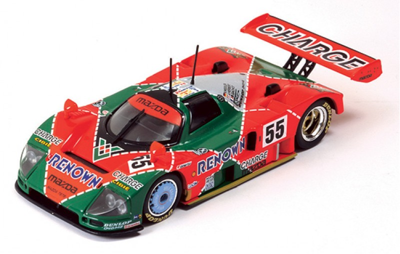 mazda 787b renown weidler herbert gachot 55 winner le mans 1991. Black Bedroom Furniture Sets. Home Design Ideas