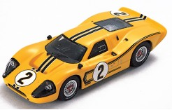 Ford MKIV B. McLaren-M. Donohue (Yellow) #2 2nd Le Mans 1967