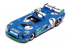Matra MS670B H. Pescarolo-G. Larrousse #7 Winner Le Mans 1974