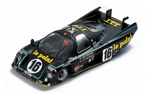 """RONDEAU M379B """"Itt-Le Point""""J-P.Jaussaud-J.Rondeau #16 Winner Le Mans 1980"""