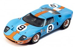 """FORD GT40 """"Gulf"""" P.Rodriguez-L.Bianchi #9 Winner Le Mans 1968"""