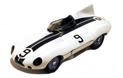 """JAGUAR D """"Cunningham"""" P.Walters-B.Spear Le Mans 1955"""