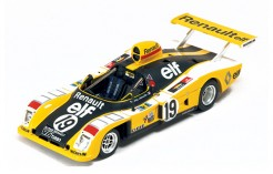 Alpine Renault A442 J-P. Jabouille-P. Tambay #19 Le Mans 1976