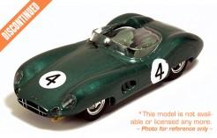 Aston Martin DBR1 S. Moss-J. Fairman #4 Le Mans 1959