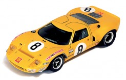 """FORD GT40 W.Mairesse """"Beurlys"""" #8 Le Mans 1968"""