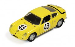 Simca Abarth 1300 #43 C. Dubois-G. Harris Le Mans 1962