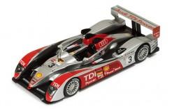 Audi R10 (Team Joest) #3 L. Luhr-M. Rockenfeller-A. Premat Le Mans 2007