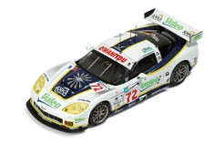 Corvettec6. R #72 LMGT1 L. Alphand-G. Moreau-J. Policand 5th Le Mans 2008