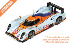Lola Aston Martin # 007 H. Primat - S. Mucke - A. Fernandez 6th LMP1 Le Mans 2010